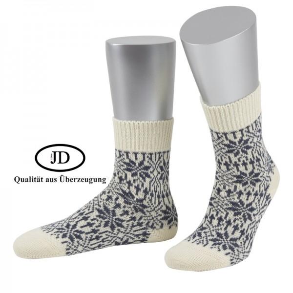 Norwegersocken Socken in natur und grau von JD