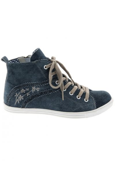Sneaker Waltrun denim blau Spieth & Wensky