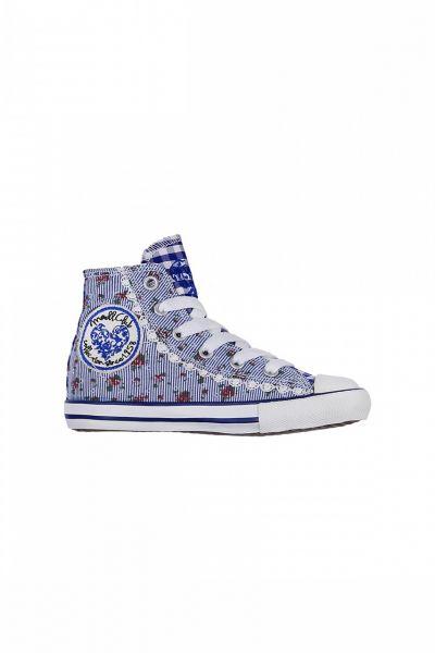 Kinder Sneaker Little Floret blue blau/weiß Krüger Kids