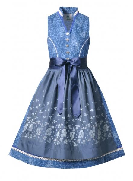 Kinderdirndl Jugenddirndl Weißenbrunn blau Isar-Trachten