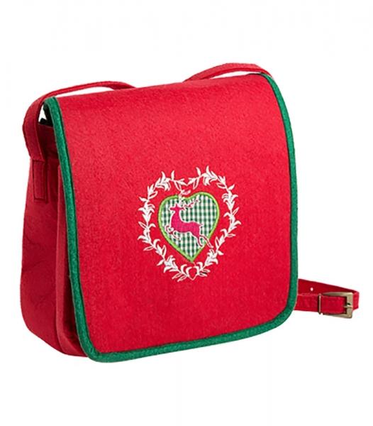 Trachtentasche rot/grün