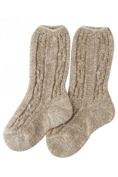 Kinder-Shoppersocken beige Lusana