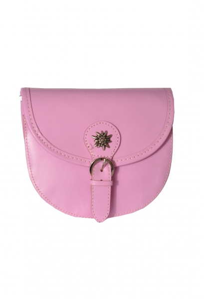 Trachten Handtasche Perach rosa Leder
