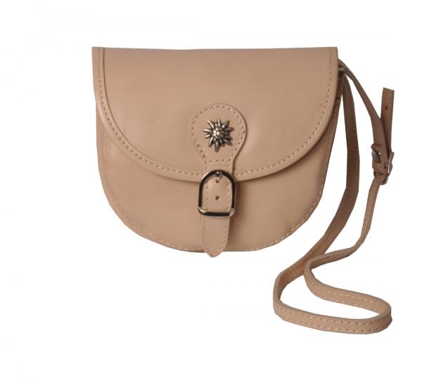 Trachten Handtasche Rettenbach beige Leder