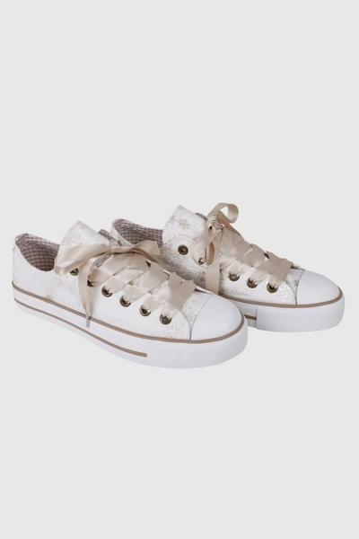 Trachten Sneaker Pearl natur Krüger