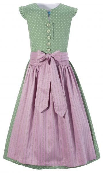 Kinderdirndl Jugenddirndl Trachtenkleid Chiara grün rosa Turi Landhaus