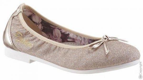 Dockers Trachten Ballerina Gold glitzer